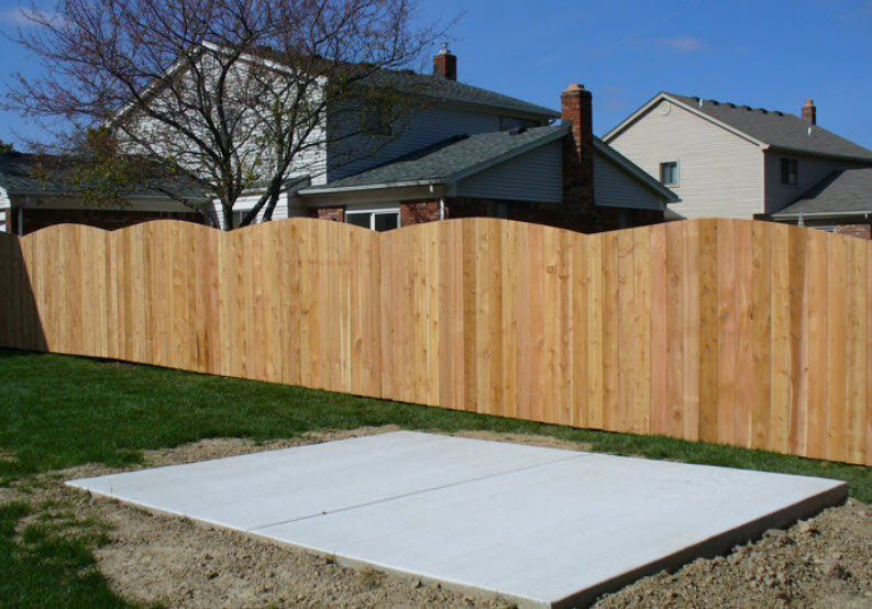 Macomb County Wood Fencing
