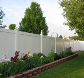Sterling Heights Vinyl Fence