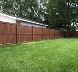 Macomb County Wood Fence Installation